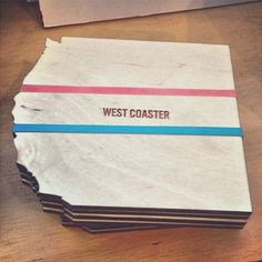 Coast to Coaster Set From Poketo #gadget #home