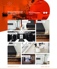Untitled Architectural Portfolio Project on Behance #layout #portfolio #showcase #clean