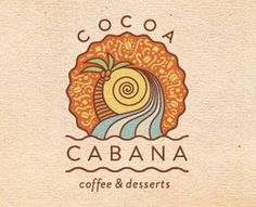 8578 #sun #boho #dessert #coffee #logo #beach #waves