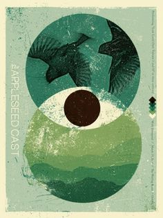Modern Gigposter Design: 100 Stunning Examples – Graphic design tutorials, freebies, & advice by working artists and designers. | GoMediaZ