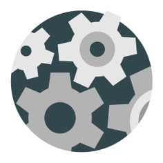 See more icon inspiration related to construction and tools, edit tools, cogwheels, gears, mechanism, industry, settings, configuration and mechanic on Flaticon.