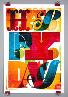 Photo-Lettering - News #type #lettering #holiday #poster