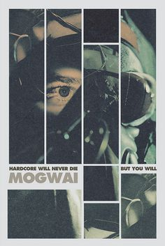 SeanBKelly #mogwai #design #graphic #poster