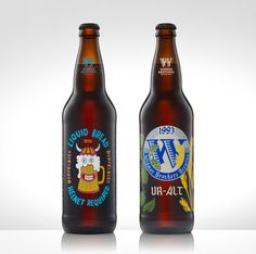 Widmer Brother's 30 Year Anniversary #packaging #beer #bottle