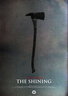 Hitchcock and Kubrick movie posters reimagined SHINING – #design #poster #film