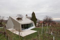 Former Wine Cellar Converted Into a More Appealing Winery #architecture