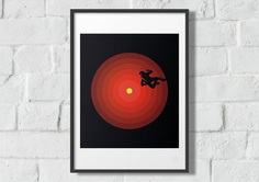 2001 A Space Odyssey Poole versus HAL 9000 Poster | Etsy