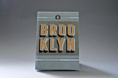 Herb Lester — Brooklyn: 41 reasons why #design #graphic #two #arms #inc #brooklyn #typography