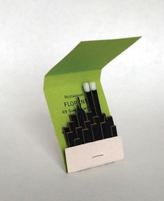 The CANADIAN DESIGN RESOURCE » Pocketbook Memento #york #nyc #matchbook #new