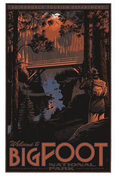 Bigfoot_variant | Flickr Photo Sharing! #illustration