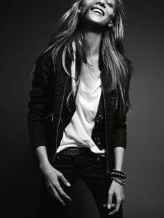 Anna Selezneva by Marcus Ohlsson #model #girl #campaign #photography #fashion