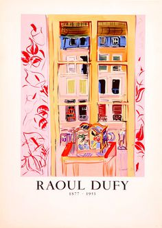 Raoul Dufy Lithograph from kingandmcgaw.com #Poster #Print #Art #Printing #Lithograph #Drawing #Mourlot