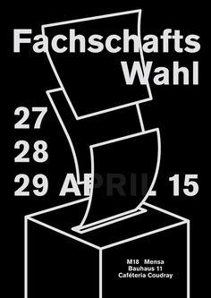 #Poster #Weimar #Stuko #Fachschatswahl