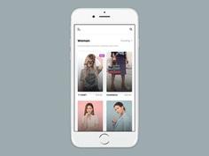Shopping Mobile App #mobile #ui #ux