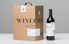 Winecast #packaging #label #wine