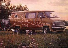 ULTIMATE ROCK 'N' ROLL ON WHEELS | THE 1970′s VAN CUSTOMIZATION CRAZE « The Selvedge Yard #van #pinstriping #1970