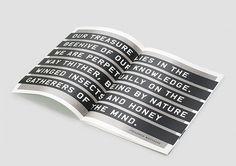 Markus Wreland Graphic Design » Grad Show Concept #design #book #markus #layout #wreland #typography