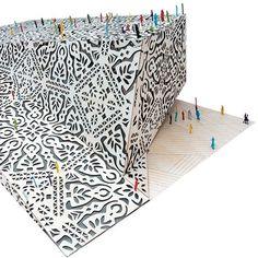 Dezeen » Blog Archive » Polish pavilion for Shanghai Expo 2010 #pattern #expo #shanghai #screen #architecture