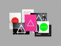 My friend qp ● AQ/AQ #fluorescent #print #design #graphic #geometric #flyers #fashion