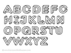 Dribbble - Macula ABC by Jacques Le Bailly #typography
