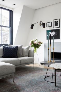 Mews House Notting Hill by Louise Holt Design