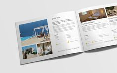 Peligoni Club brochure #brochure #spread #design #holiday #travel
