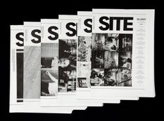 Site Magazine #grid #print