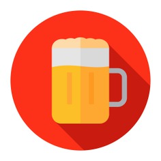 See more icon inspiration related to beer, alcohol, food and restaurant, alcoholic drinks, pub, alcoholic drink, jar and food on Flaticon.