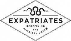 Branding for Expatriates by Nicholas Samendinger #lettering #branding #design #vintage #logo #typography