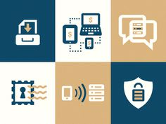 Communication Icons #rty