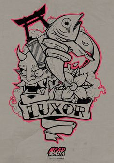 Luxor by Mcapmonsta #illustration #design #art