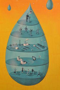 Juxtapoz Magazine - #government #lazy #war #world #industry #change #politics #consumerism