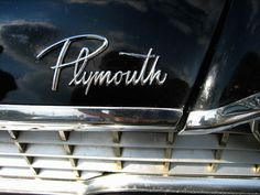 Plymouth #logo #lettering #vintage #auto
