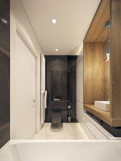 Modern Bathroom °1 - Apartment °1 #modern #bathroom #bagno #moderno #appartamento
