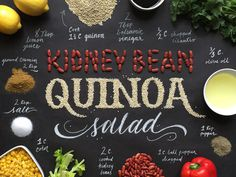 Handcrafted Recipes – Quinoa Salad by Becca Clason