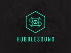 HubbleSound logo mark