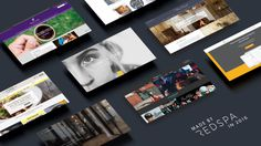Web design in 2016 by Redspa http://redspa.uk