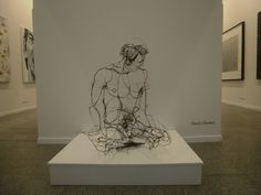 http://1.bp.blogspot.com/ 8Ty1 6MKxfc/TgDJQwsIs5I/AAAAAAAACgQ/KIjwbKnJMRs/s1600/2.JPG #sculpture #wire #art #oliveira #david
