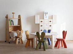 Environmentally friendly furniture for children, by Hiromatsu - www.homeworlddesign.com (2) #woodenfurniture #kidsfurniture