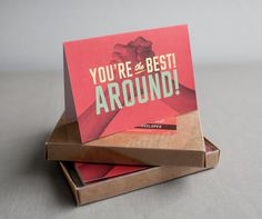 You're the best #around #you #card #lee #best #christopher
