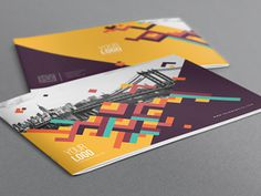 Colorful Pattern Brochure. Download here: http://graphicriver.net/item/colorful-pattern-brochure/7999677?ref=abradesign #modern #print #design #colorful #template #sale #download #brochure