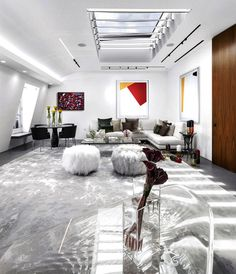 London Penthouse by Fernanda Marques Arquitetos Associados - home decor, #decor, interior design, decorating ideas