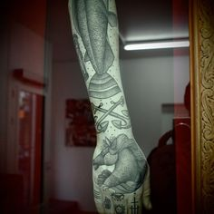 Tattoo Arm Exhibition by Guy le Tatooer | Ink Butter™ | Tattoo Culture and Art Daily #tattoo