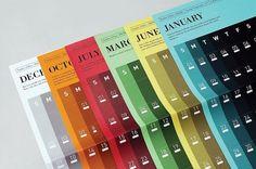 Predictions : Tim Wan : Graphic Design #calendar #typography