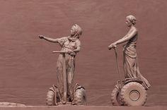 Praetoria X - Alexey Morosov #sculpture #segway