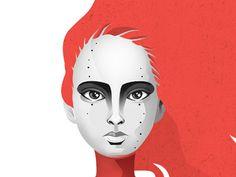 Girl #illustration #c #krauss