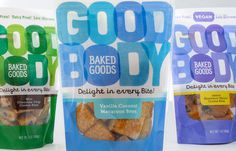 Goodbody Baked Goods — The Dieline #packaging