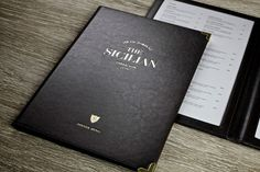 The Sicilian Restaurant identity