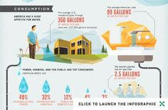 Not a Drop to Drink: America's Very Real Water Crisis (Infographic) #crisis #water #drink #infographic #environment #clean