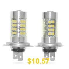 Sencart #2pcs #H7 #PX26D #LED #AC #/ #DC9 #- #36V #Fog #Light #- #WHITE